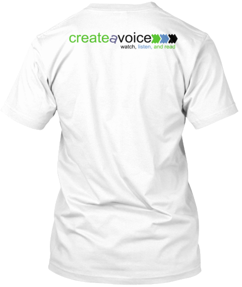Inspire Generosity To Your Friends White T-Shirt Back