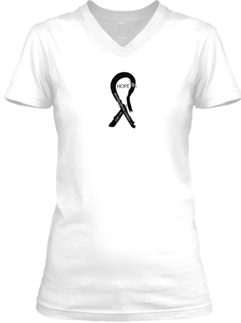 Alternative, Natural, Mental, Addiction White T-Shirt Front
