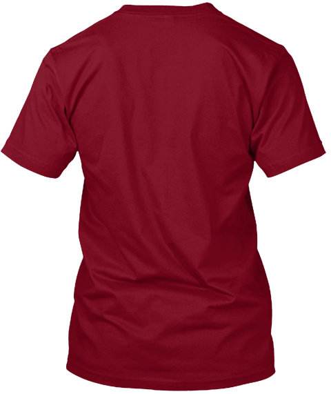 Wild Couch Cowboy (Cranberry) Cranberry T-Shirt Back