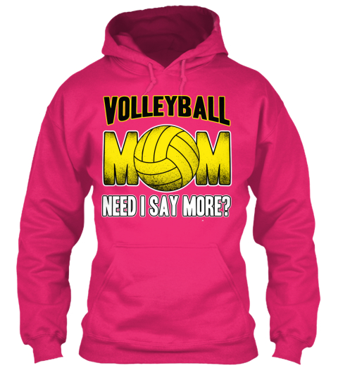 Volleyball Mom T Shirts And Hoodies Heliconia T-Shirt Front