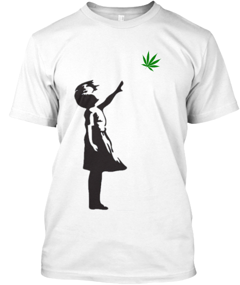 Stay Lit Club Mary Jane T Shirt White T-Shirt Front