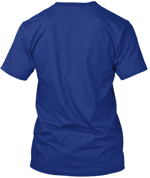 Chiberia   It's Cold As Sh*T Tee! Deep Royal T-Shirt Back