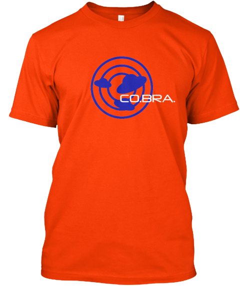 Co.Bra.%0 A Orange T-Shirt Front