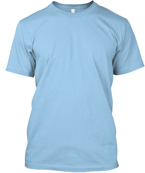 I Love Someone With Diabetes Light Blue T-Shirt Front