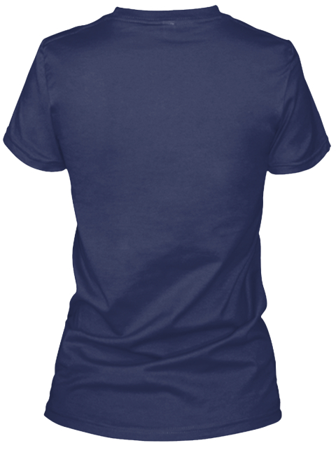 **Limited Edition** Navy Women's T-Shirt Back