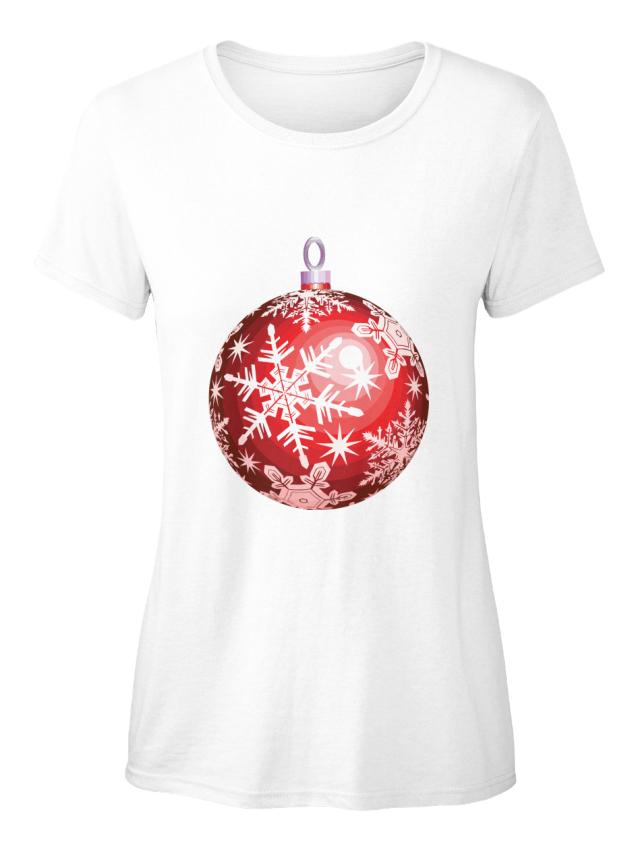 Unique-Christmas-Standard-Women-039-s-T-Shirt-Standard-Women-039-s-T-Shirt