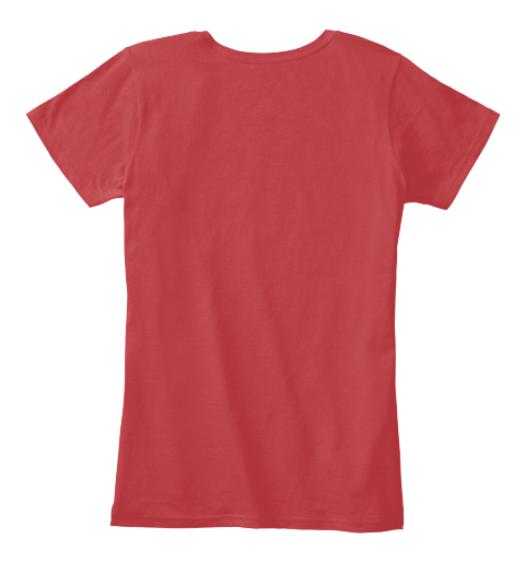 Indie Blogger   Loud And Proud Classic Red Women's T-Shirt Back