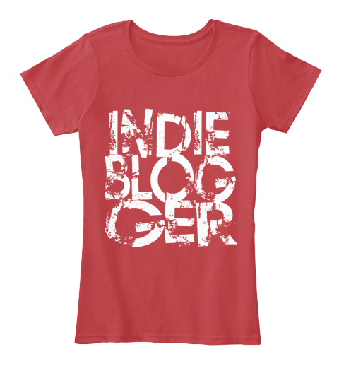 Indie Blogger   Loud And Proud Classic Red Women's T-Shirt Front