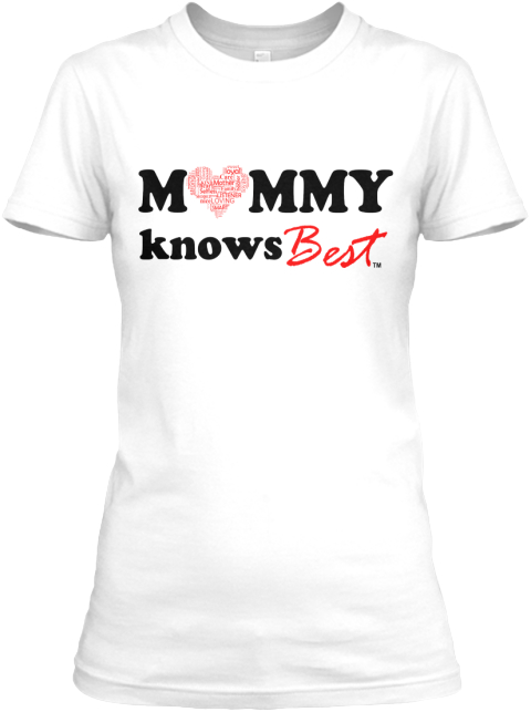 Mom Grind Apparel   Available Now! White Women's T-Shirt Front