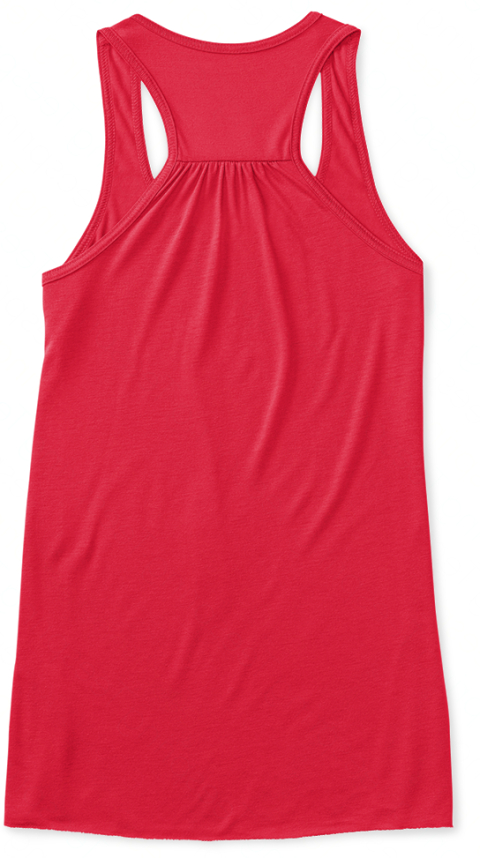 Be A (Re)Covergirl (In Red)! Coral Women's Tank Top Back
