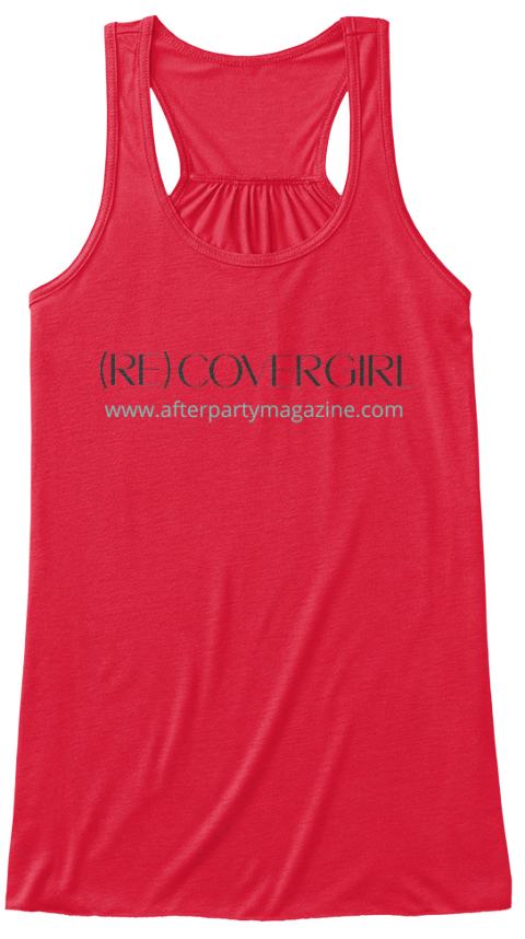 Be A (Re)Covergirl (In Red)! Coral Women's Tank Top Front