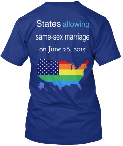 States Allowing Same Sex Marriage 10