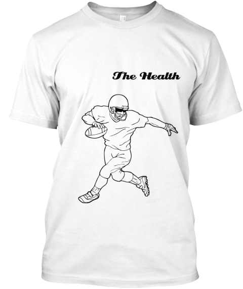 The Health White T-Shirt Front