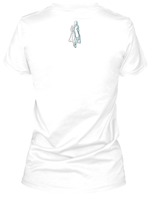 Cold Hard Fash I Am. Collection White T-Shirt Back
