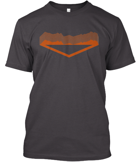 The Outdoor Society    Shirt #1 Heathered Charcoal  T-Shirt Front