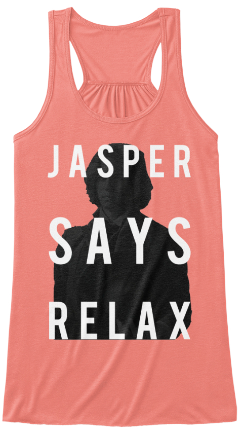 Olympic Coven Team Jasper Shirts Coral Women's Tank Top Front