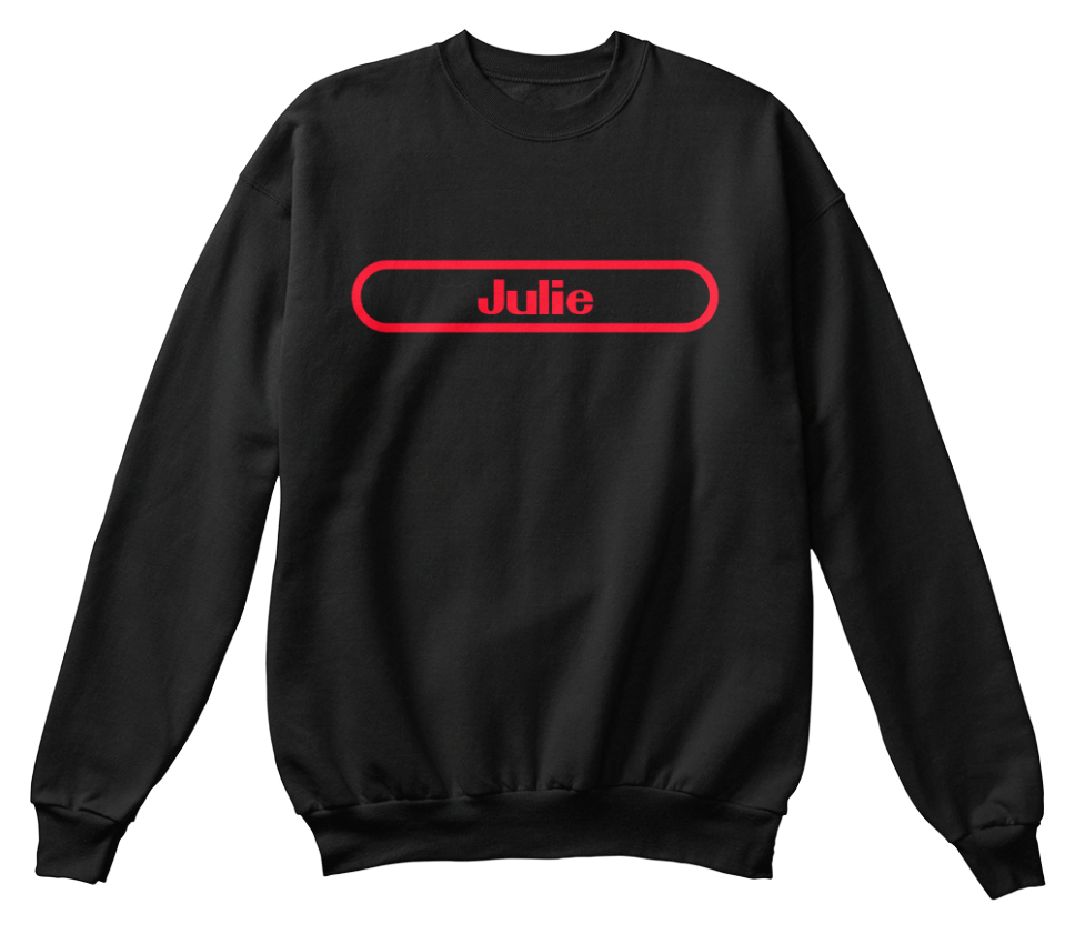 Julie nom retenir Le confortable shirt à Sweat TzTZWnFBr