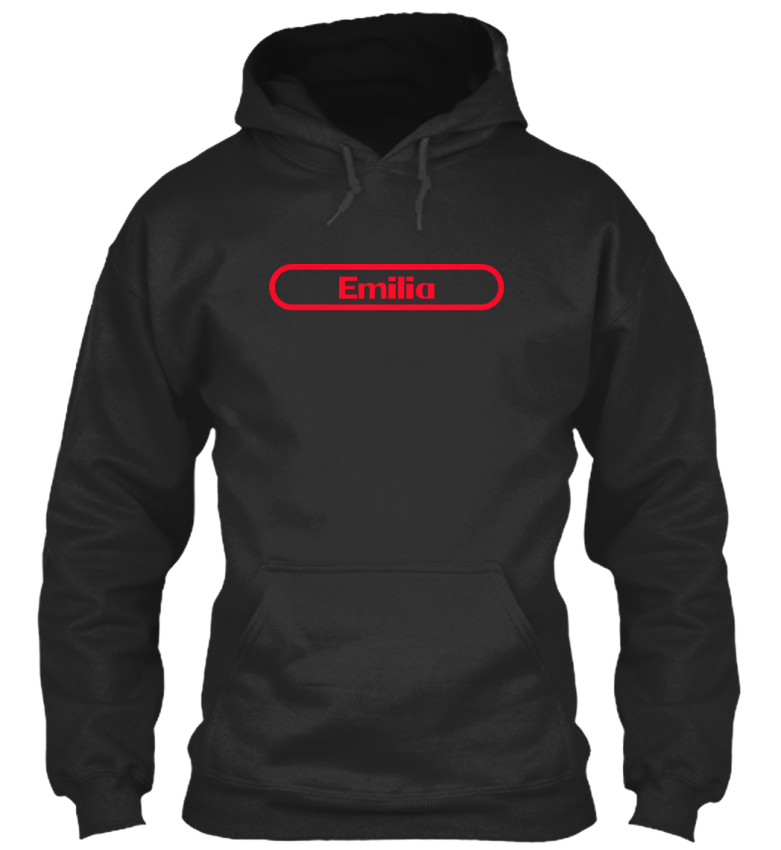 Emilia-The-Name-To-Be-Remembered-Sweat-a-Capuche-Confortable
