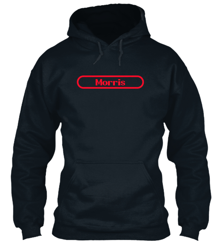 Morris-The-Name-To-Be-Remembered-Sweat-a-Capuche-Confortable
