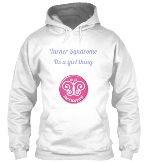 Turner Syndrome Its A Girl Thing White T-Shirt Front
