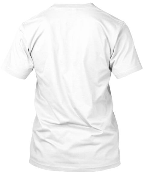 'say &Quot;No&Quot; To Cyber Bullying' Tees! White áo T-Shirt Back