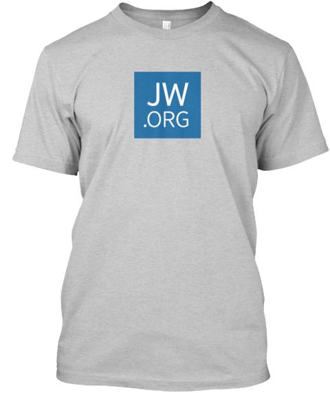 Classic JW org T-Shirt (Gray)