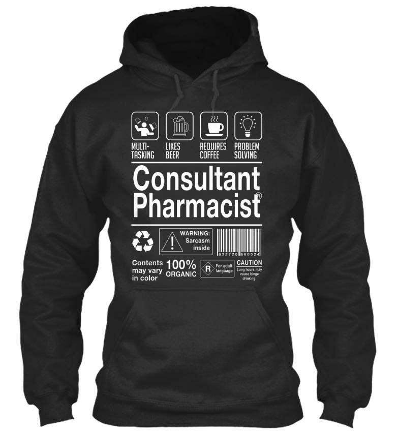 Soft-Consultant-Pharmacist-Multi-tasking-Likes-Beer-Standard-College-Hoodie
