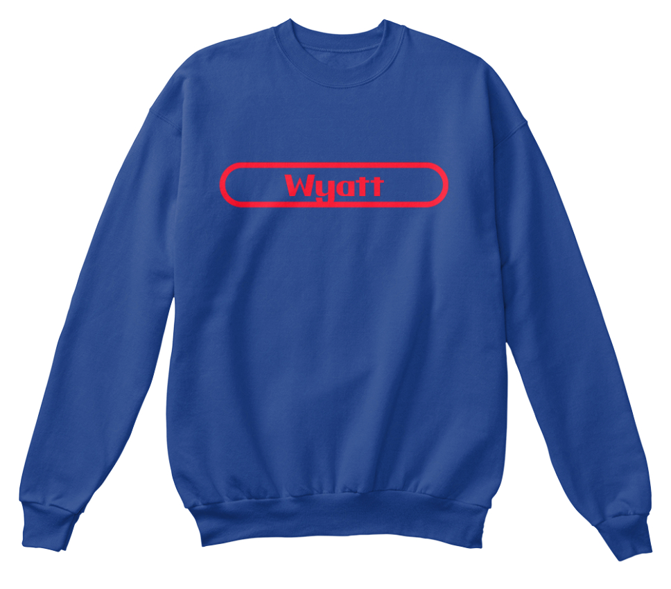à standard Sweat Wyatt unisexe retenir shirt Le nom awnqfUE