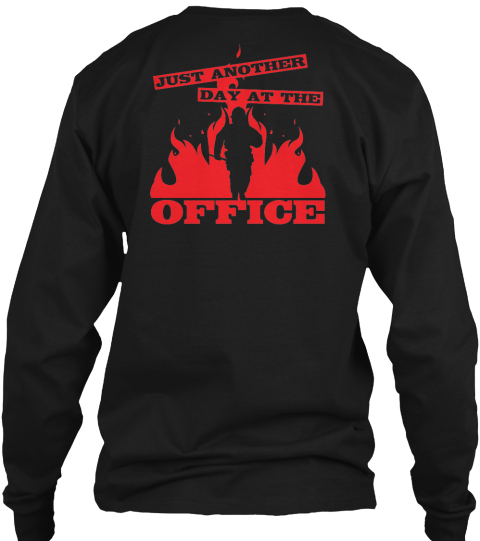 Limited Edition Black Long Sleeve T-Shirt Back