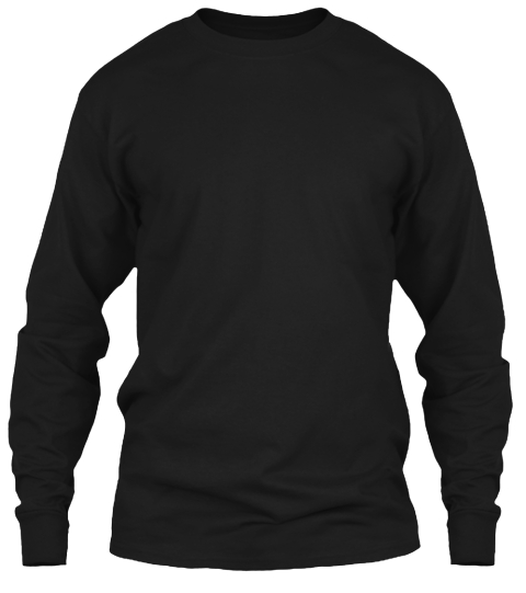 Limited Edition Black Long Sleeve T-Shirt Front