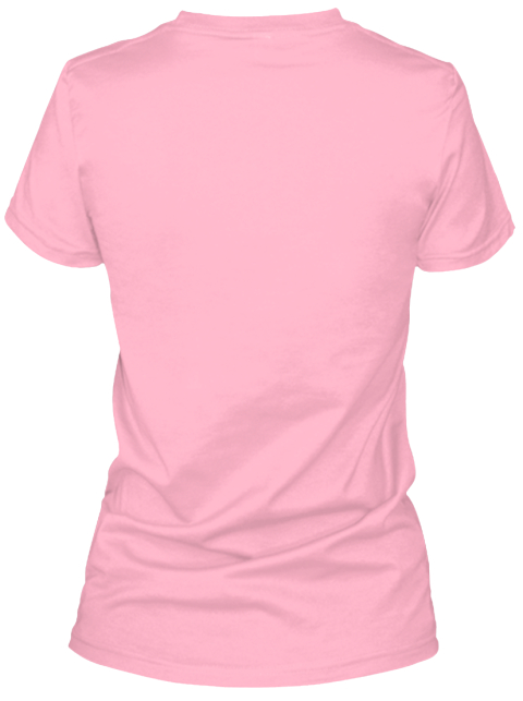 Be Your Own Dream Date Pink T-Shirt Back