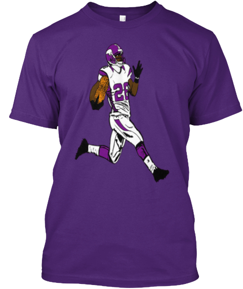 Orange Peanut Purple Jesus Purple T-Shirt Front