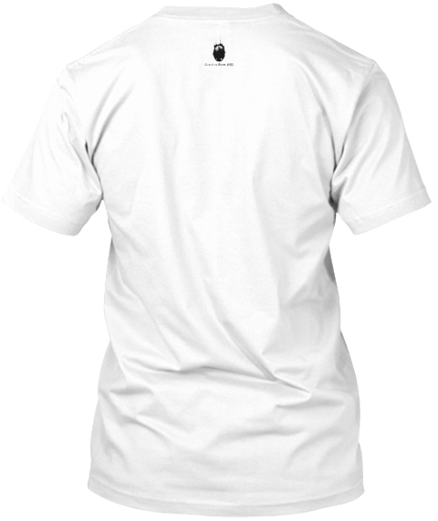 Live The Questions White T-Shirt Back