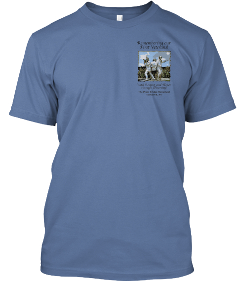 Nl Denim Blue T-Shirt Front