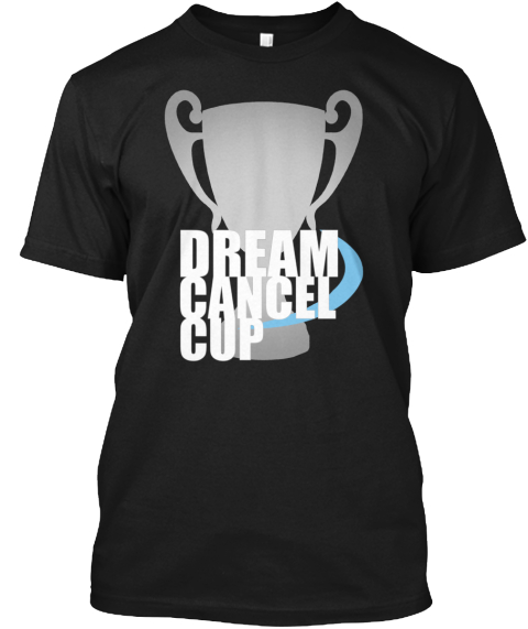 Dream Cancel Cup Journey To Dream Cancel Cup Lonestar Admonition Global Tournament Combo Breaker Kof Hyper Battle Evo... Black T-Shirt Front