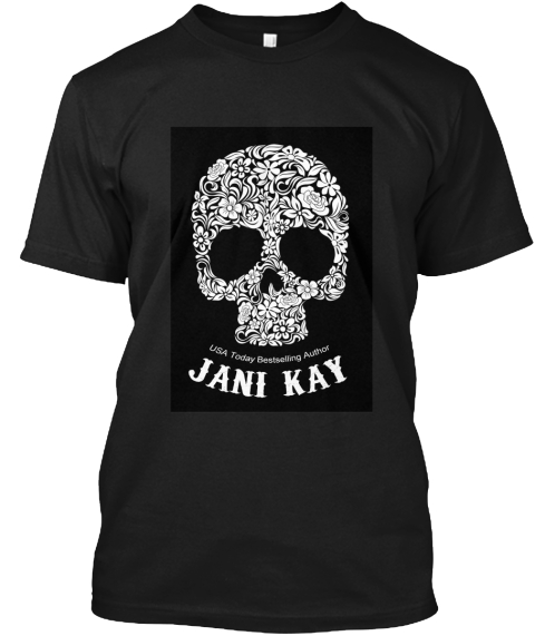 d6b85e6d2e Usa Today Bestselling Author Jani Kay Scorpio Stinger Mc #Rydersbitch Black  T-Shirt Front