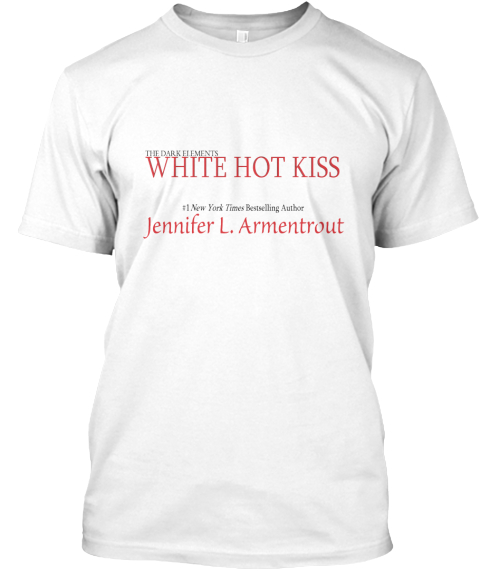 Exclusive White Hot Kiss T Shirt White T-Shirt Front