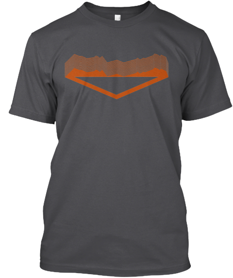 The Outdoor Society   #1 (Euro Edition) Charcoal T-Shirt Front