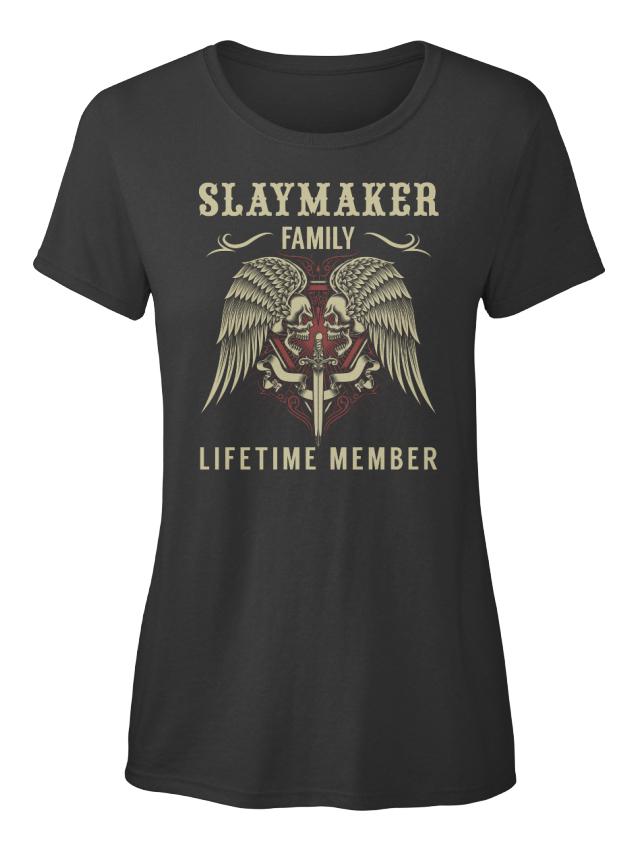 Slaymaker-Family-Lifetime-Member-Standard-Women-039-s-T-Shirt