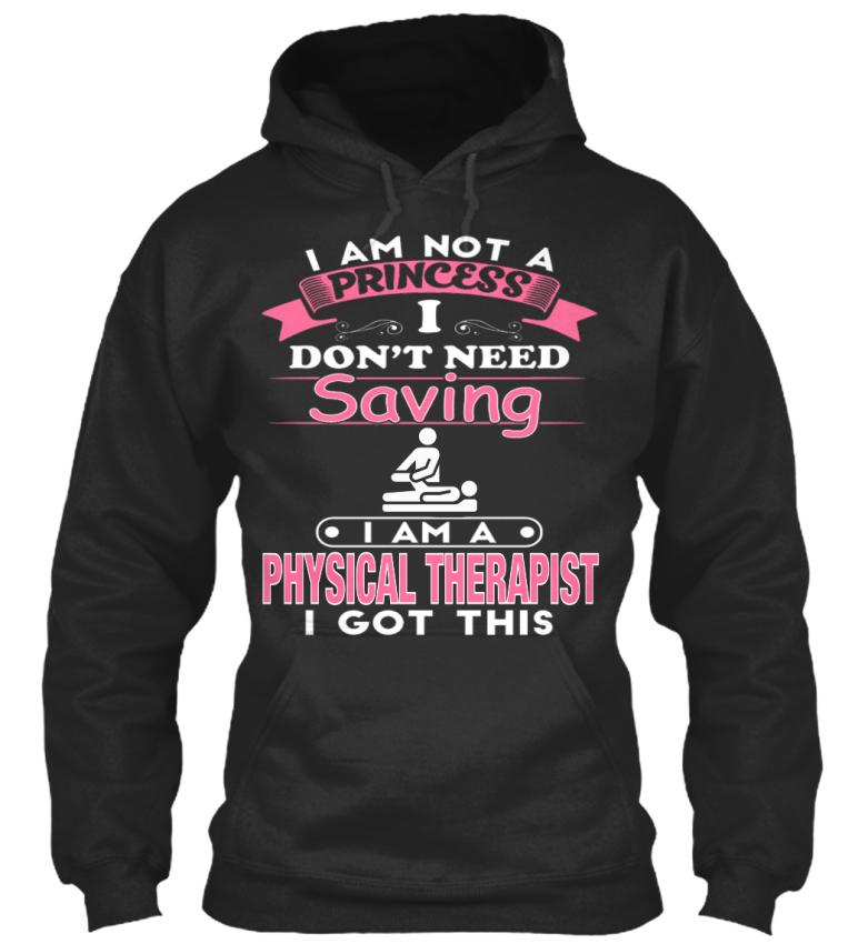 je la standard thérapeute un Pas Personnalisé princesse Hoodie physique suis ne College pas xSHwqZqaT