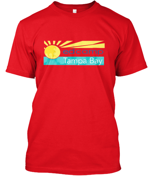 Edcamp Tampa Bay  Red T-Shirt Front