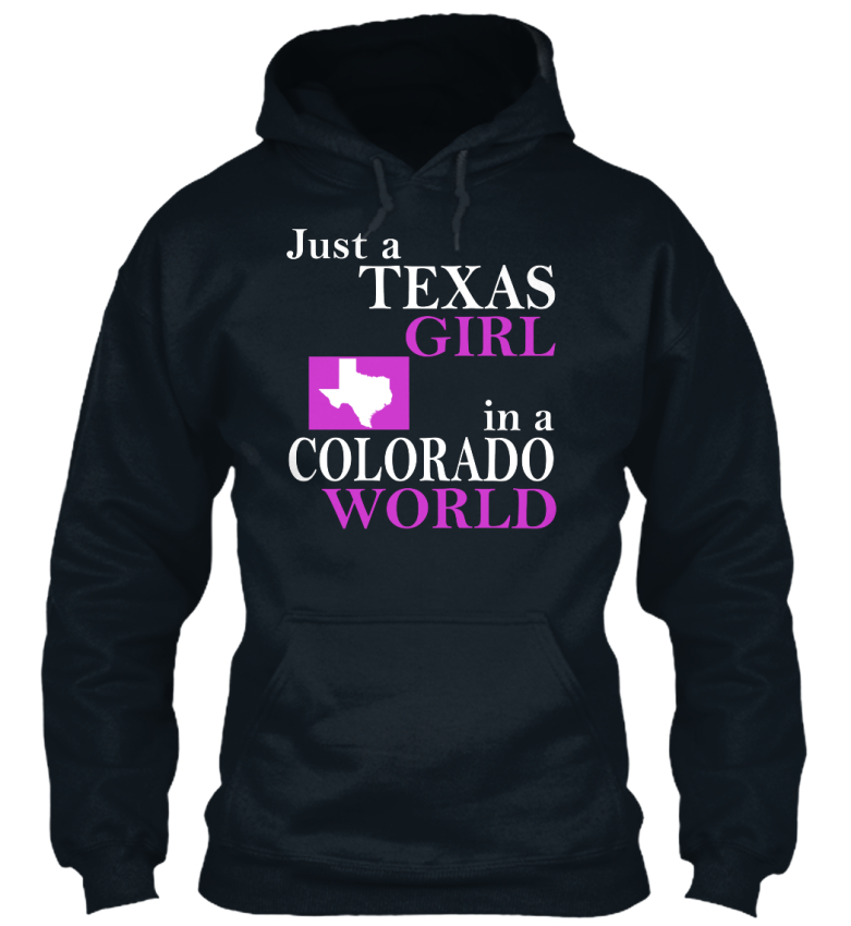 An Sweat Juste Capuche Dans Texas Girl le Standard Colorado À Un Worls College YqYRv6w