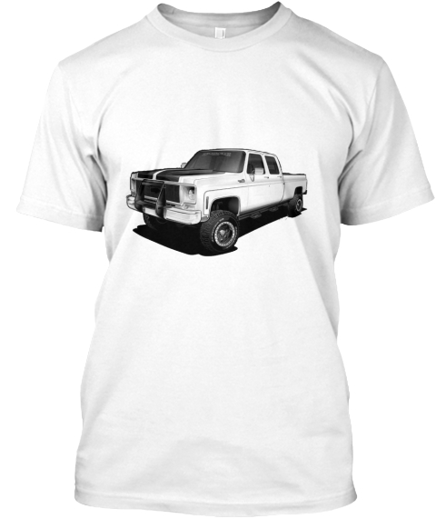 602a2dc6017 Square Body Shirts Hoodies White T-Shirt Front