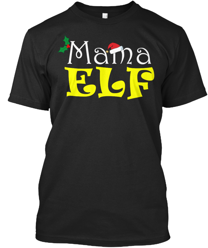 Mama-Elf-Christmas-Standard-Unisex-T-Shirt