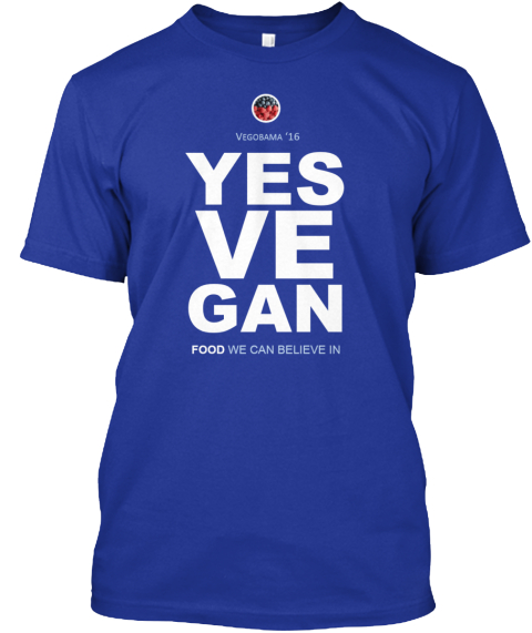Yes We Can...Yes Ve Gan! Lapis áo T-Shirt Front