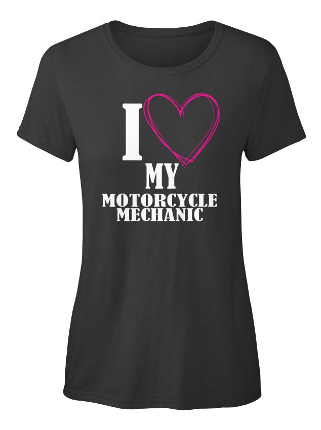 Off-the-rack-Motorcycle-Mechanic-I-Love-My-Standard-Standard-Women-039-s-T-Shirt