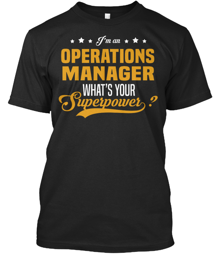 Casual-Operations-Manager-I-039-m-An-What-039-s-Your-Standard-Unisex-T-Shirt