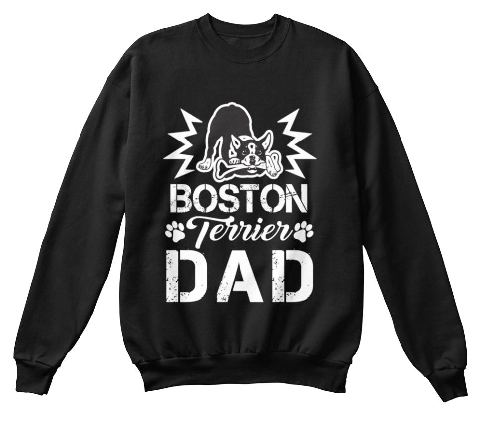Boston Chien Terrier Chien Boston père Propriétaire T W-Standard Unisexe Sweat aff56b