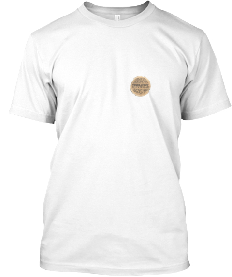 Strowger Automatic White T-Shirt Front
