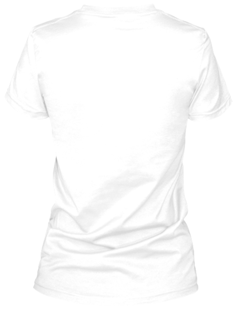 Show The World You Read In Colour! White T-Shirt Back